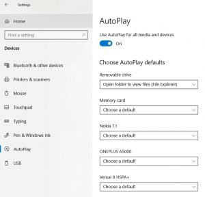 AutoPlay - How To Manage Devices Community Forum - Welcome to the world of Device Management! This is community build by Device Management Admins for Device Management Admins❤️ Ask your questions!! We are here to help you! - Disable AutoPlay in Windows 10
