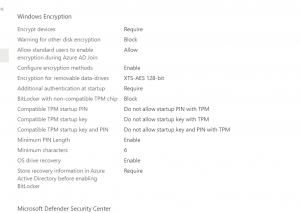 2020 10 05 19 15 19 - How To Manage Devices Community Forum - Welcome to the world of Device Management! This is community build by Device Management Admins for Device Management Admins❤️ Ask your questions!! We are here to help you! - BitLocker encryption not working on newly created Autopilot device