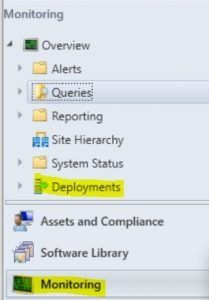 SecurityRole Deployments - HTMD Forum - Welcome to the world of Device Management! This is community build by Device Management Admins for Device Management Admins❤️ Ask your questions!! We are here to help you! - Security Role to view only Deployments tab under Monitoring in SCCM console.